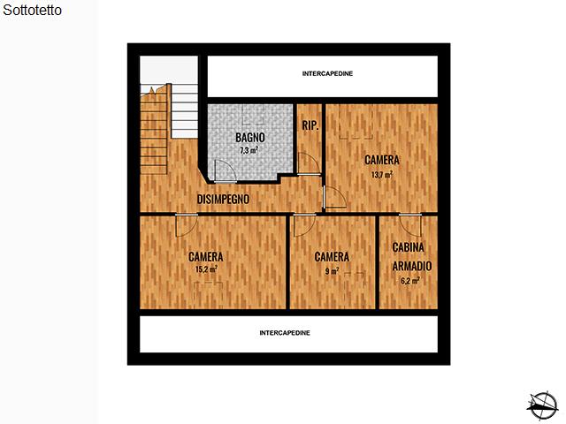 63 Strada Comunale Bertolla Abbadia di Stura, Torino, Piemonte, 3 Stanze da Letto Stanze da Letto, ,3 BathroomsBathrooms,Ville,Vendita,Strada Comunale Bertolla Abbadia di Stura,1,1021
